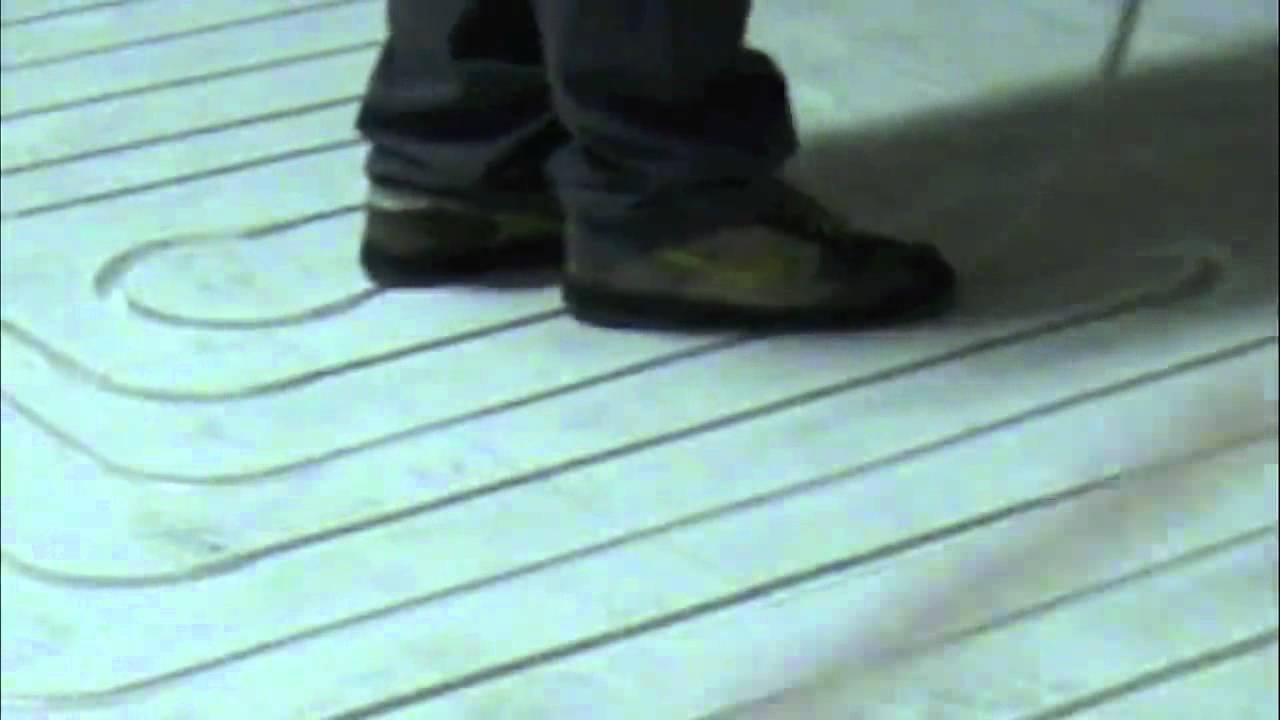 Riscaldamento A Pavimento Ribassato Spessore posa di un impianto radiante a zero spessore