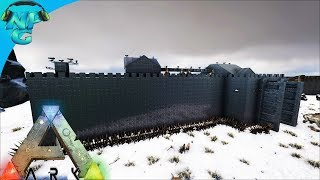 World War ARK - Prisoners Being Taken 2 Men 1 Base Raid the Snow Castle Base! S2E11 ARK Survival