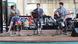 "AJR Perform ""Wagon Wheel"" Live & Unplugged in Shreveport, Louisiana"