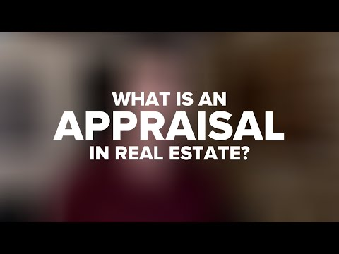 How Does A Real Estate Appraisal Work?
