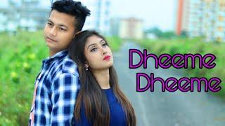 Dheeme Dheeme Tony Kakkar   ft.Priyasmita And Ripon   Love Story   Love Sin