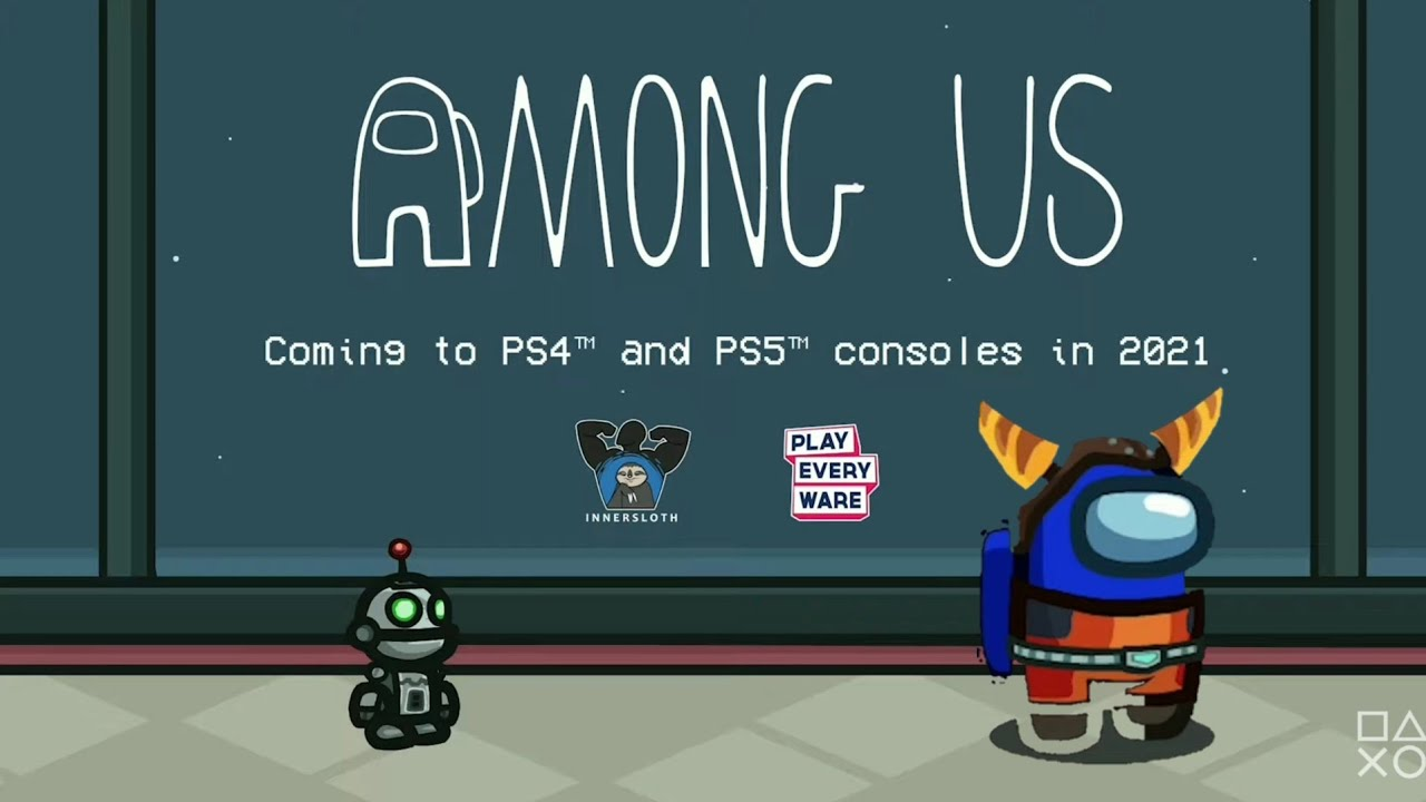AMONG US TRAILER PS4-PS5