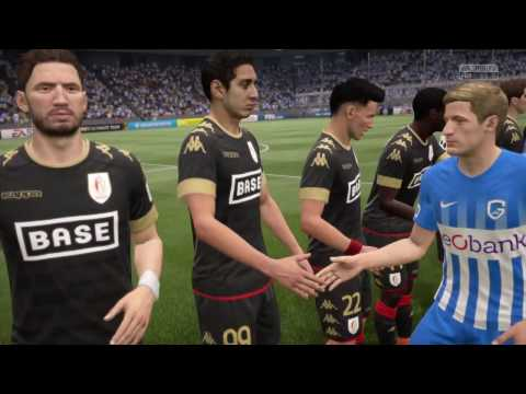 FIFA 17 - KRC GENK VS STANDARD LIEGE GAMEPLAY - BELGIUM PRO LEAGUE