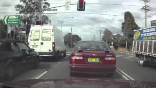 Typical Westie Road Rage
