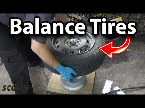 You Can Balance Your Own Tires