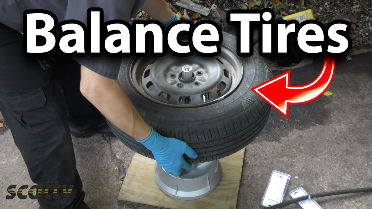 How To Balance Your Car S Tires Youtube
