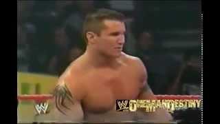 WWE Evolution Randy Orton vs Maven