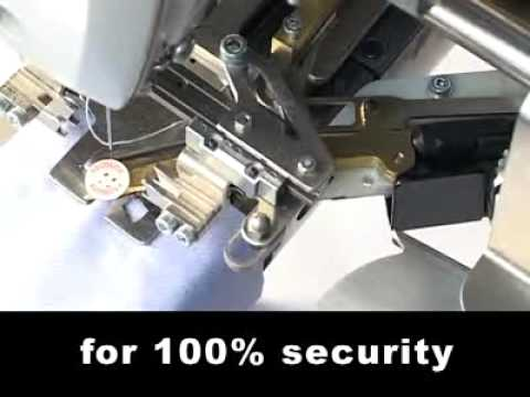 Button attaching and wrapping machine