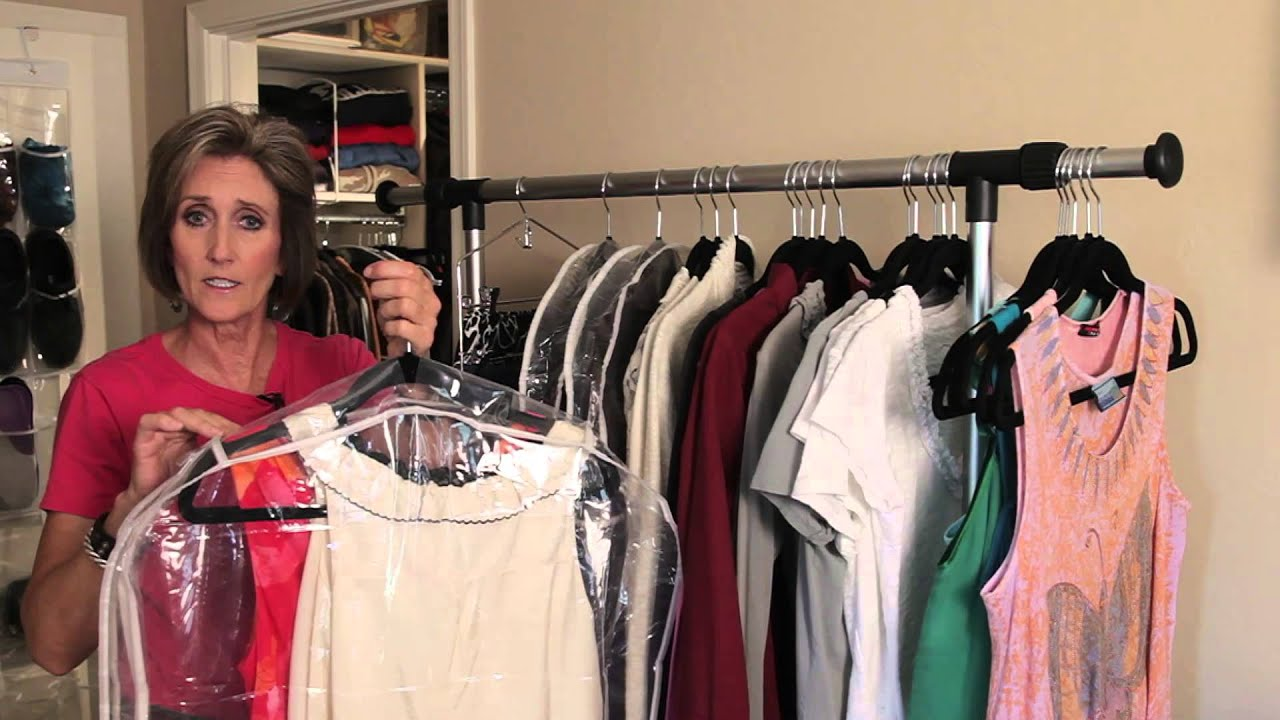 Storage Ideas For Hanging Clothing : Organizing With Style   YouTube