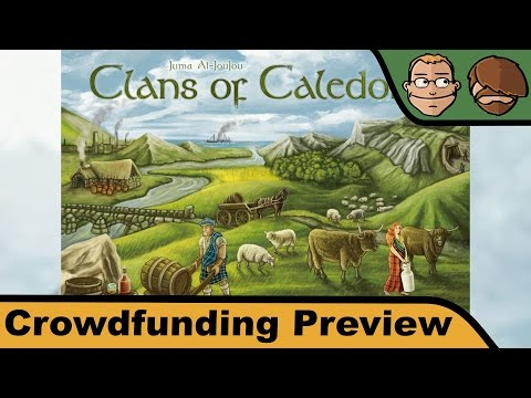 Clans of Caledonia - Brettspiel - Crowdfunding Preview