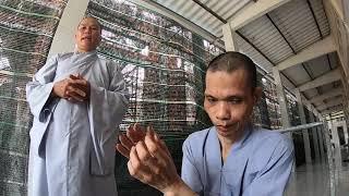 Chú Lộc xích chân 30 Năm đến chùa thăm sư cô Diệu Giác I PHONG BỤI