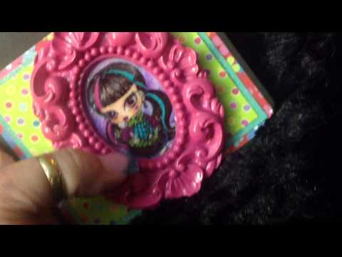 Twin Monster High Doll Happy Birthday Cards 2014 Youtube