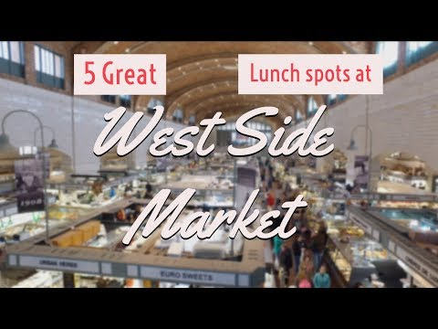West Side Market Cleveland - 5 Spots To Get Lunch There