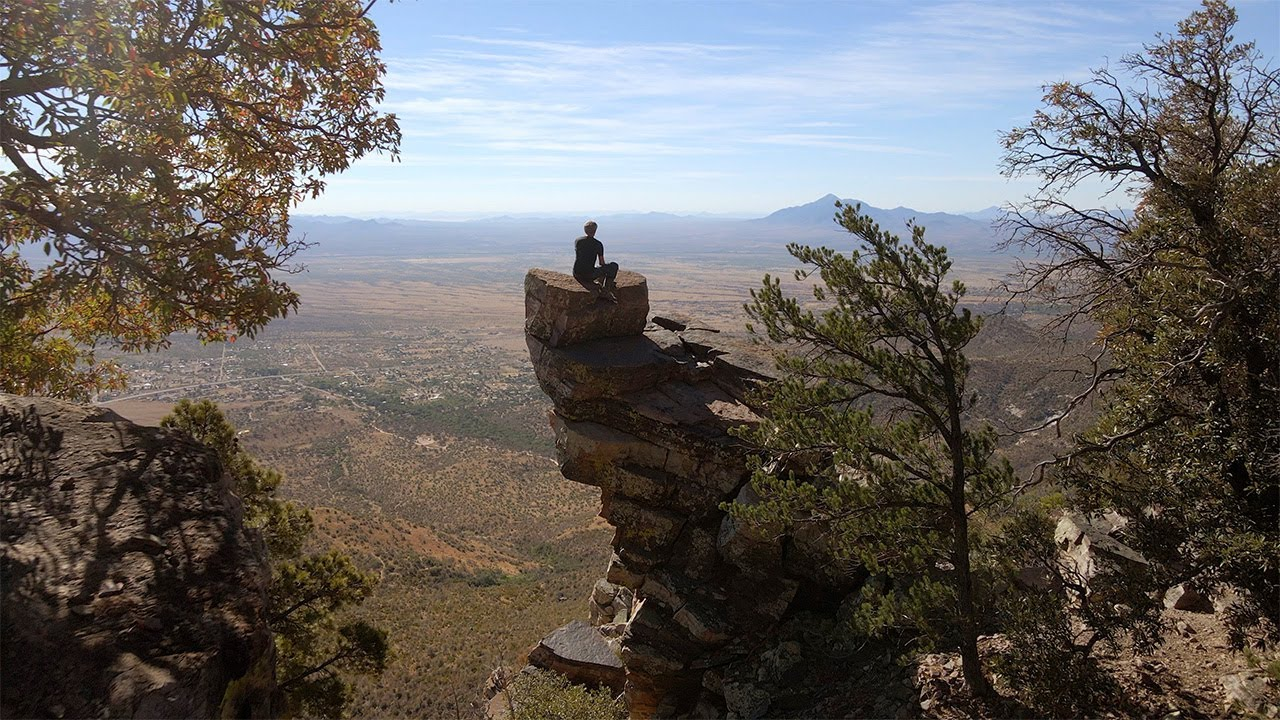 Moto Camp - High Above the Desert