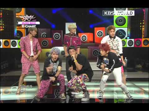 [Music Bank K-Chart] 4th week of August 2012 & BEAST - Beautiful Night (2012.08.24)
