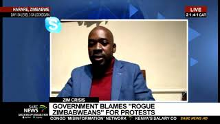 Nelson Chamisa speaks out on the situation in Zimbabwe - Part 1