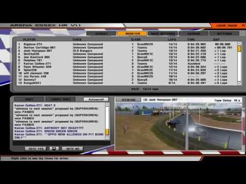 OnlineStockcars: Unlimited Bangers - Shakedown w/ World Final Wildcard *LIVE* [17/02/15]