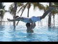 Chris & Kem's Braggage Rights Synchronised Swimming Challenge   First Choice