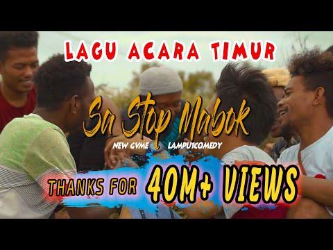 Lagu Acara Timur Terbaru - SA STOP MABOK | NEWGVME Ft LAMPU1COMEDY (Official Music Video)