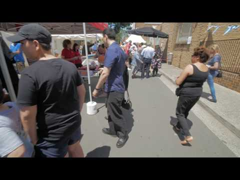 Sydney Video Walk 4K - Greek Fair Burwood Spring 2017