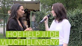 Hoe kan jij de vluchtelingen helpen? Wij zochten het uit!