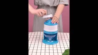 가정용 수동 팥빙수 눈꽃빙수 만들기 얼음 가는 기계