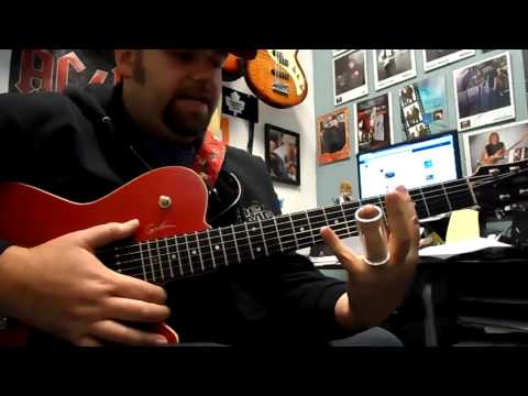 how to play slide guitar in open g