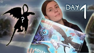 1ST DAY OF DRAGONS! How to train your Dragon: Snoggletog Surprise 2019