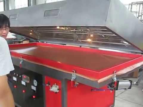 Vacuum Press Machine For Furniture BYT2611