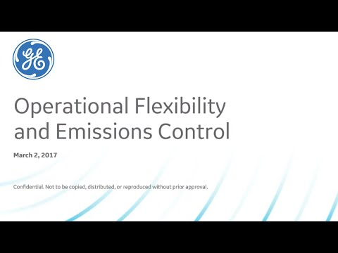 Operations Flixibility and Emissions Control | GE Power