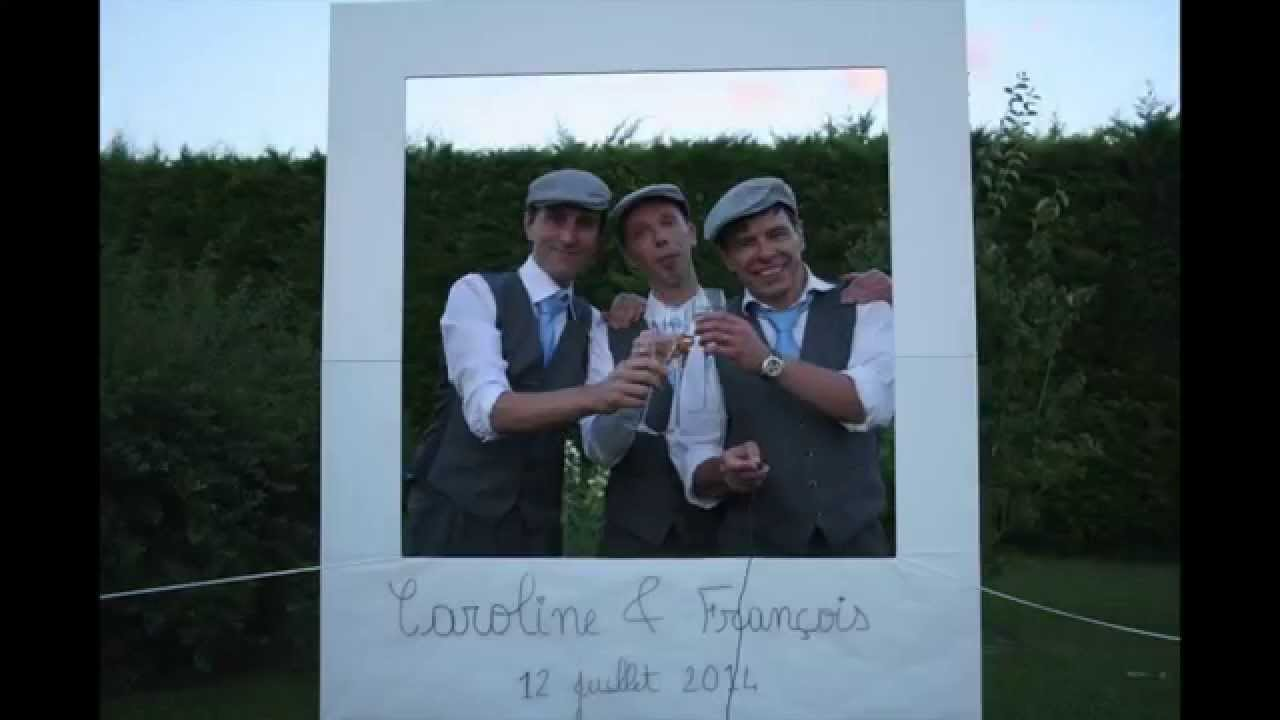 Souvent Photomaton - #PhotoBooth - Coin Photo #Mariage C&F ©Armelle  YX58