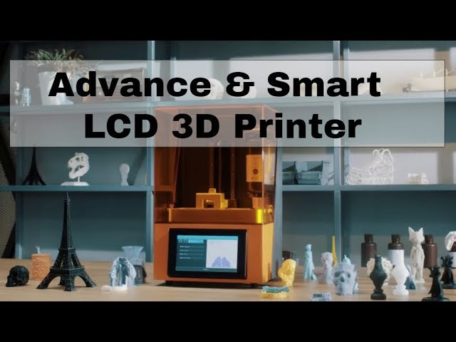 The Most Advanced LCD 3D Printer | Innovative startups | Business Ideas