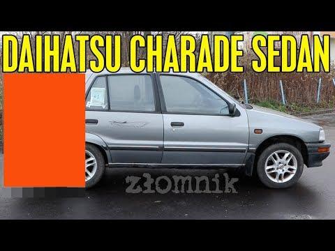 Złomnik: Daihatsu Charade Sedan – Mała Brzydka Rakieta