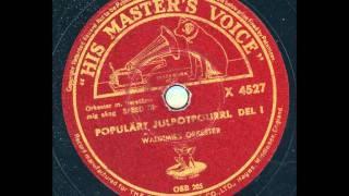 Julmusik - Waldimirs orkester - Populärt Julpotpurri Del 1