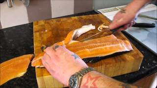 How To Fillet A Rainbow Trout. (the Easy Way)