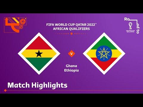 Ghana Ethiopia Goals And Highlights