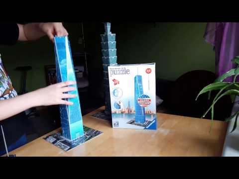 One World Trade Center Freedom Tower   Puzzle 3D