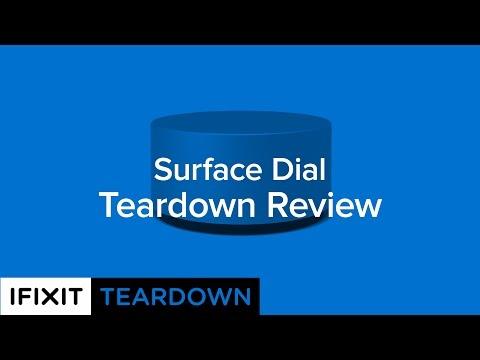 Microsoft Surface Dial Teardown Review!