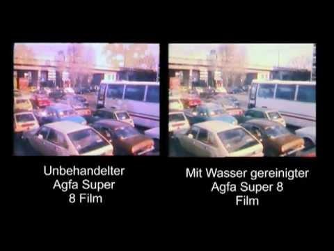 Kristallentfernung bei Super 8 Agfa Material