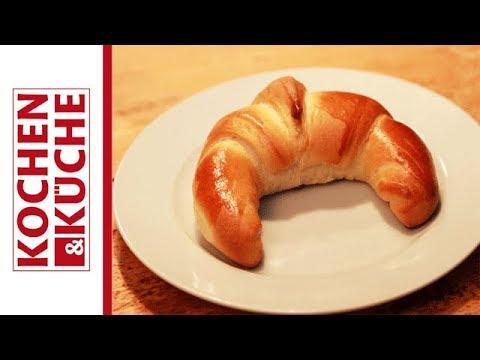 Schokokipferl selber backen | Kochen und Küche - YouTube