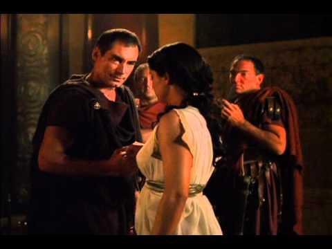 Cleopatra Meets Caesar You