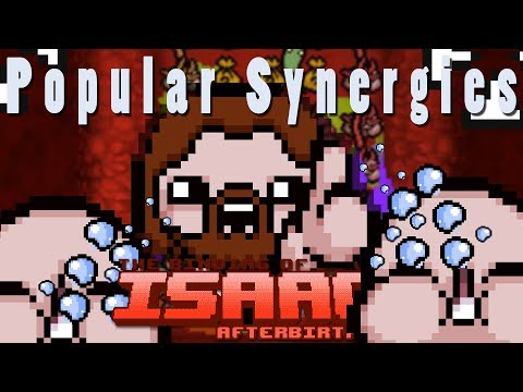 The Binding of Isaac Afterbirth Plus | Mouse Aim Sucks | Popular Synergies!