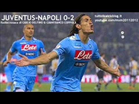 JUVENTUS-NAPOLI 0-2 – Radiocronaca di Giulio Delfino & Gianfranco Coppola – FINALE COPPA ITALIA 2012