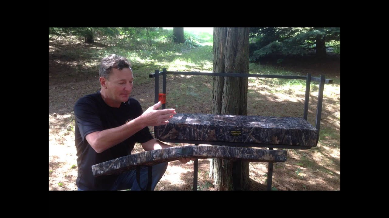 Double Wide Buddy Tree Stand Cushion Youtube