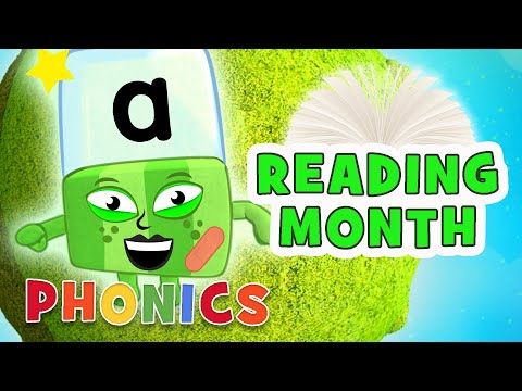 Phonics - Learn to Read | The Letter 'A' | Month of Reading