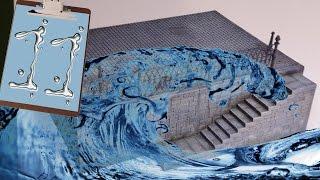 """Строим диораму """"Джеймс Бонд"""". Часть 11. Имитация воды. Стендовый моделизм."""