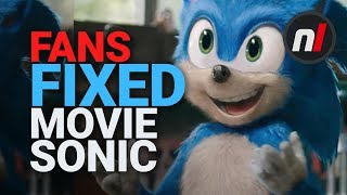 Fans Have Fixed Sonic's Design (2019 Movie)