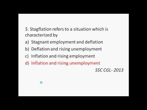 MCQ on Inflation
