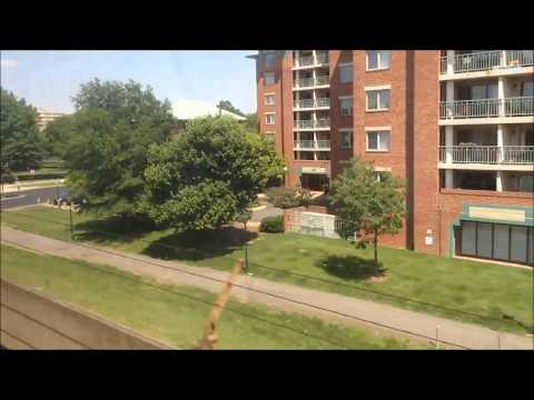 Washington DC Metro | Yellow Line FULL JOURNEY: Huntington To Fort Totten