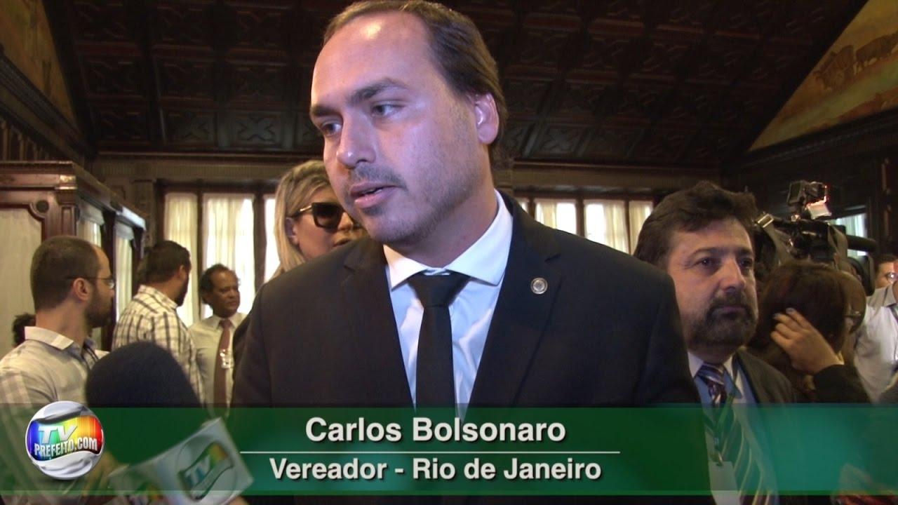 ENTREVISTA COM CARLOS BOLSONARO NA DIPLOMAÇÃO DOS ELEITOS ...